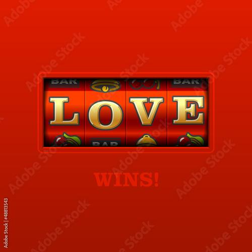 Love Wins! Slot machine.