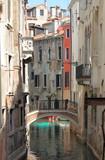 Urban scenic of Venice, Italy poster