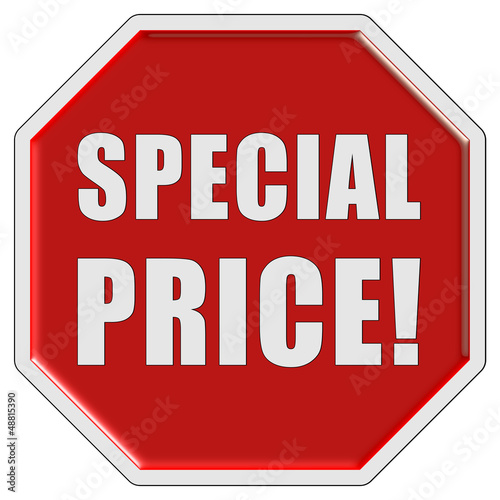 Stopschild rot SPECIAL PRICE!