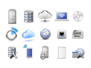 Network devices and computing icons