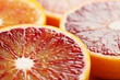 Blood orange close up