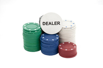 Fichas de jogo de Poker