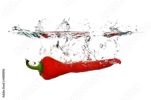 Red Pepper splash