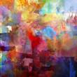 Leinwandbild Motiv malerei texturen