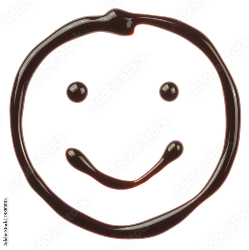 Chocolate smiling face