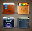 High detailed apps icons
