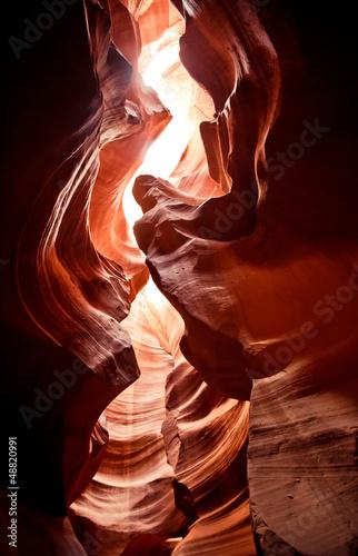Leinwandbilder,antilope,arizona,schlucht,rot