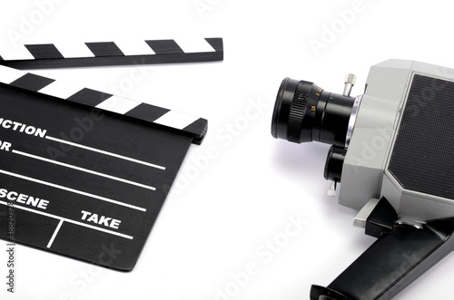 Film industry and film production concept