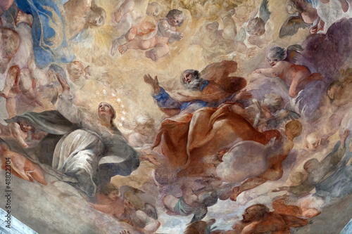 Rome - The Church of Santa Maria del Popolo