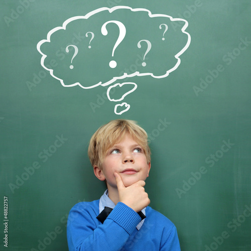 Child with Questionmark