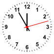 Uhr simpel - 48822972