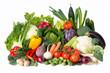 Leinwandbild Motiv buntes Gemüse