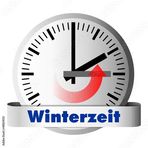 Winterzeit Uhrzeit umstellen