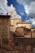 urban scene in Girona. Spain.