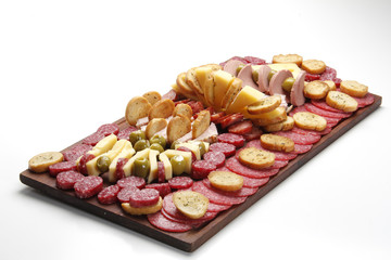 Argentine deli table (picada)
