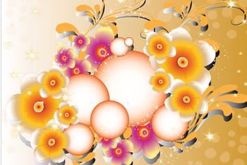 florales scintillantes