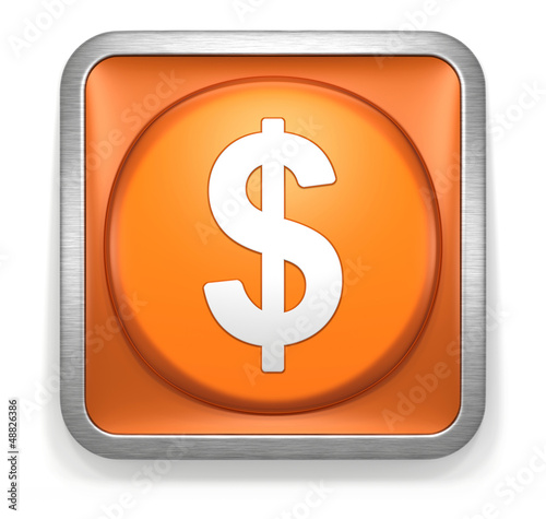 Dollar_Orange_Button