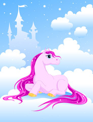 magic pink pony
