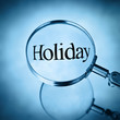 find a holiday