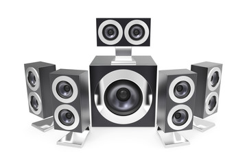 Surround speakers