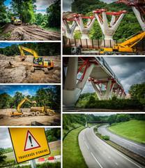 Concept transport et chantier