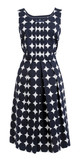 dress with polka dots