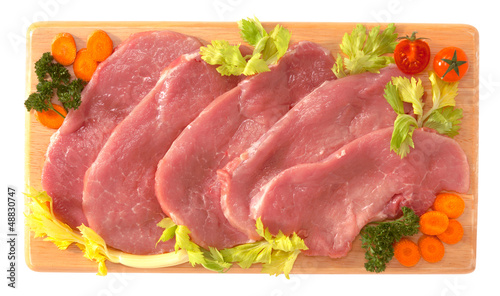 Fettine di suino - Slices of pork