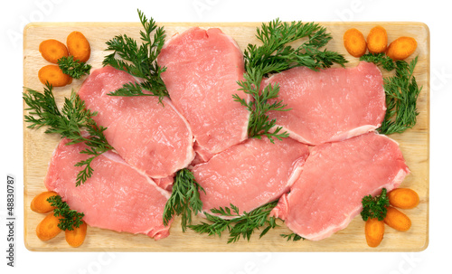Fette di lonza di maiale - Slices of pork