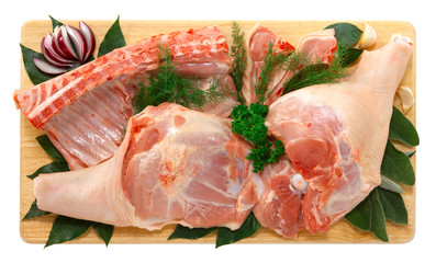 Maialino in parti - Pork meat