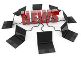 News online - red -