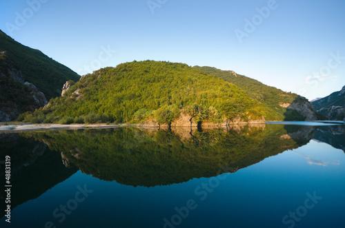 Koman-Fierza Lake, Albania © ollirg
