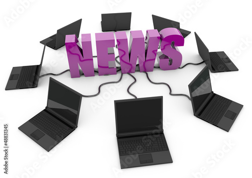 News online - purple -