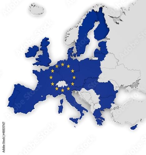Les pays membres de l'UE