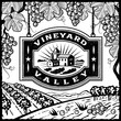 Vineyard Valley black and white