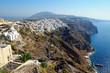 View over Fira, Santorini