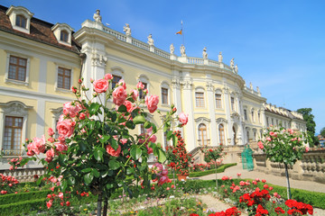 Ludwigsburg palace in Ludwigsburg, Baden-Wurttemberg, Germany
