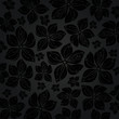 black elegant floral card background 2