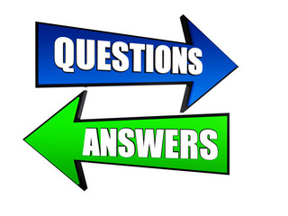 questions and answers in arrows