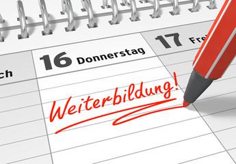 Terminkalender: Weiterbildung