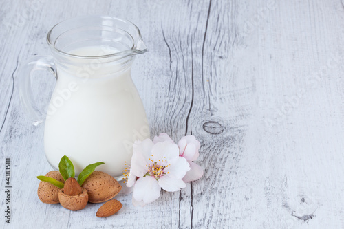 Almond milk IV