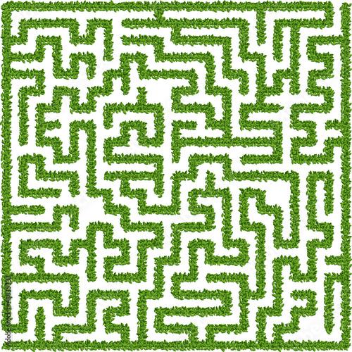 Sticker Bushes maze