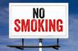 No Smoking Billboard Sign