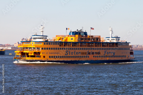 Foto op Canvas Treinstation Staten Island Ferry New York City