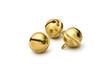 Leinwanddruck Bild - Drei goldene Glöckchen