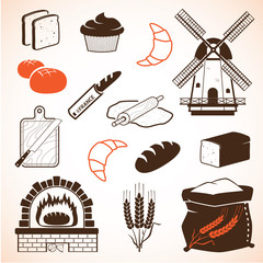 Bread theme icons