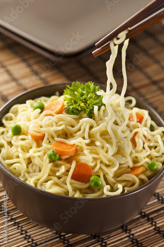 Homemade Quick Ramen Noodles