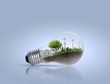 ight bulb Alternative energy concept