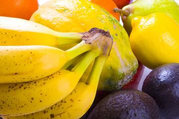 Variety of fresh fruit