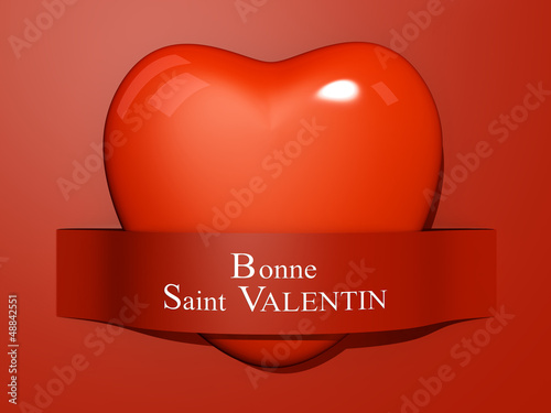 Valentine's Paper Cut out - French Language