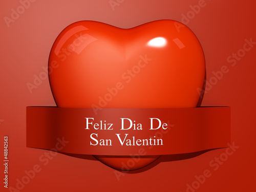 Valentine's Paper Cut out - Spanish Language